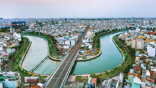 Nhieu Loc – Thi Nghe Canal after renovation